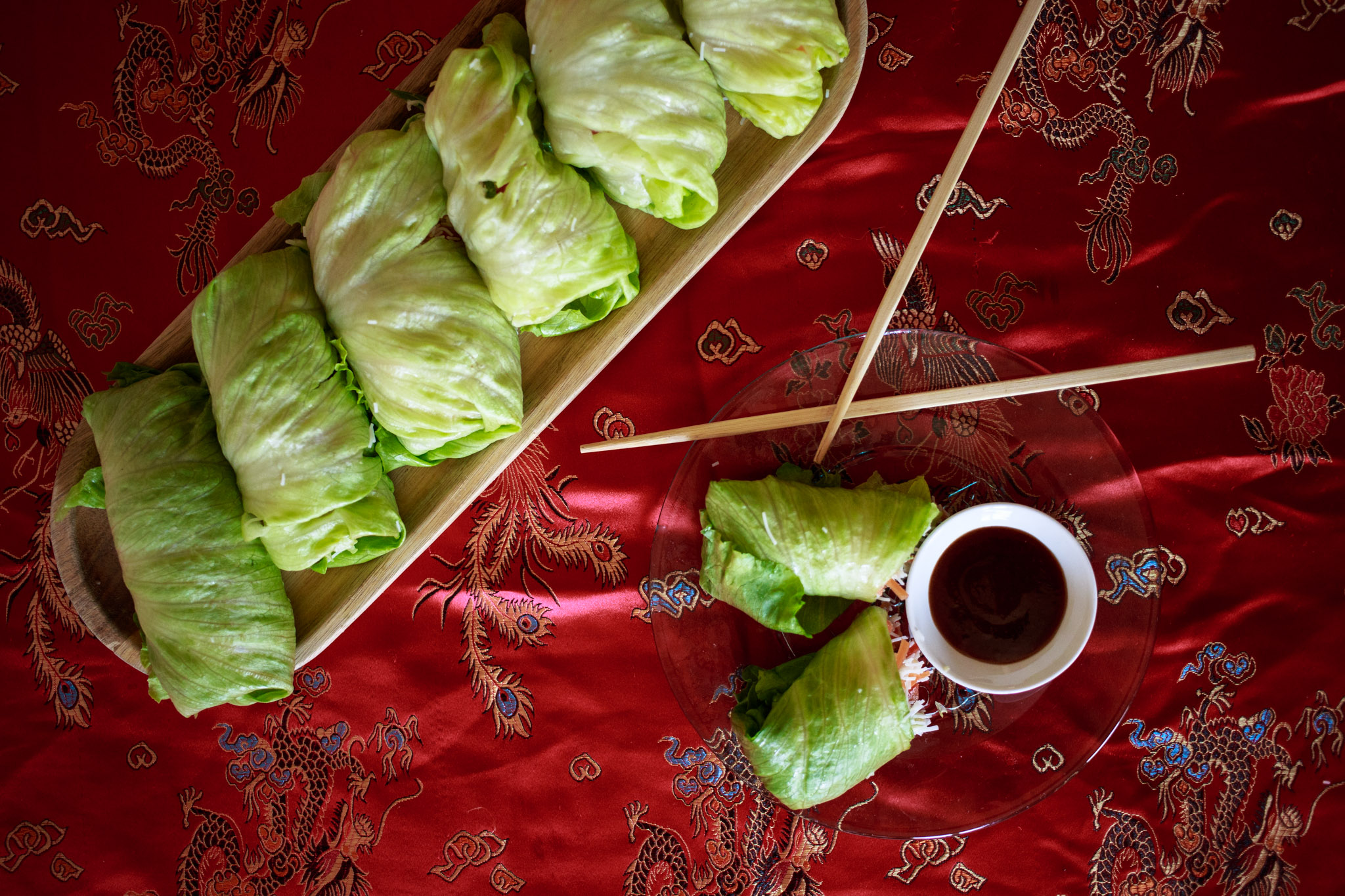 Photo of Lettuce Wraps