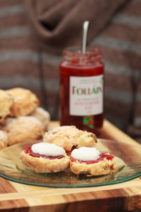 Lazy Vegan Irish Scones