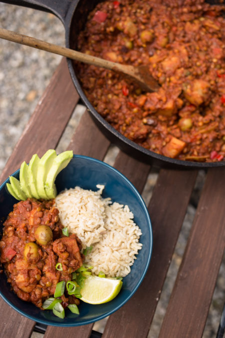 Vegan Cuban Picadillo Recipe